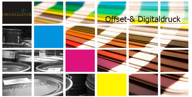 Offset- & Digitaldruck