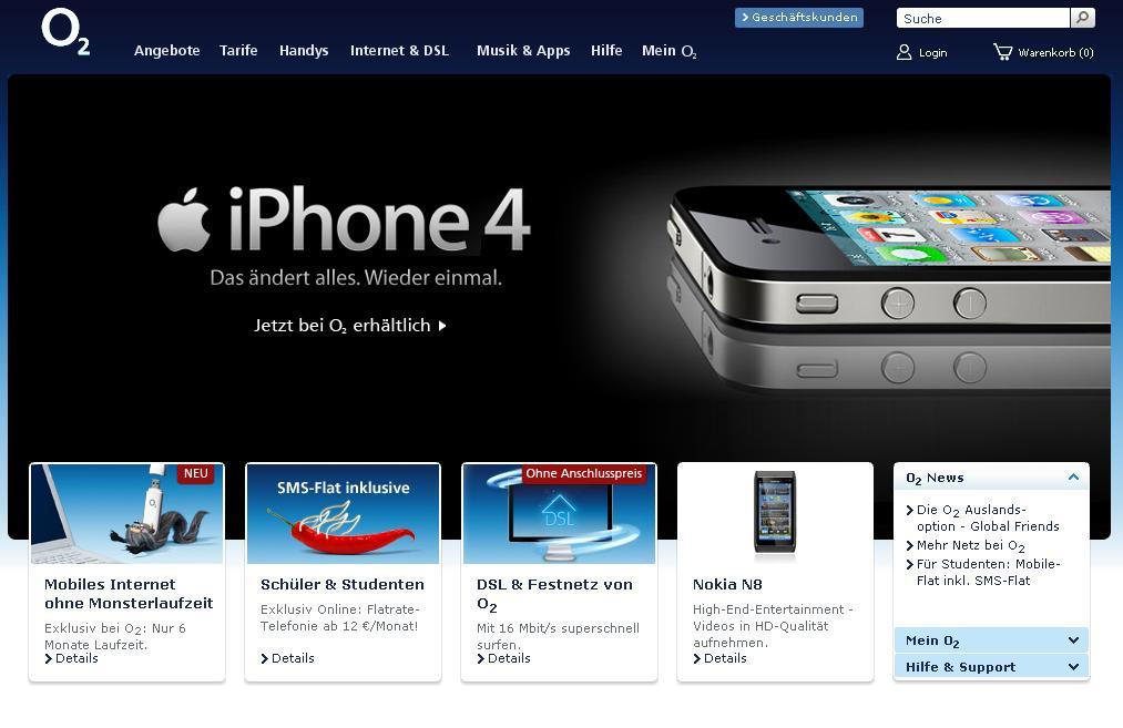 iPhone 4 ab sofort frei erhältlich