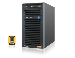 SERVER-TOWER INTEL ATOM SINGLE-CPU SC731I SILENT