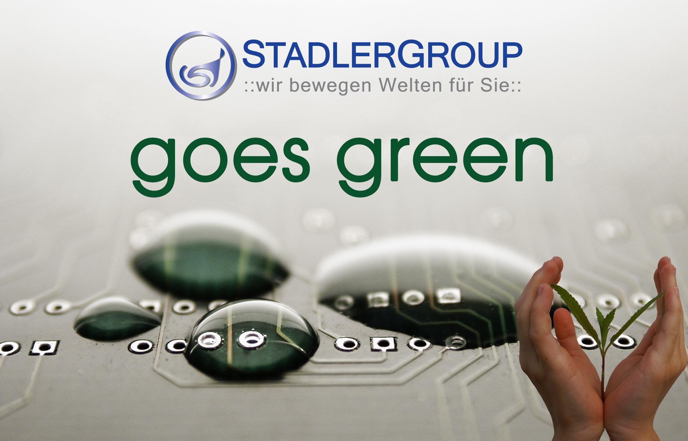 Stadlergroup goes green