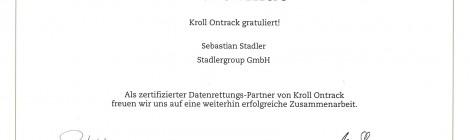 Kroll Ontrack zertifizierter Datenrettungs Partner